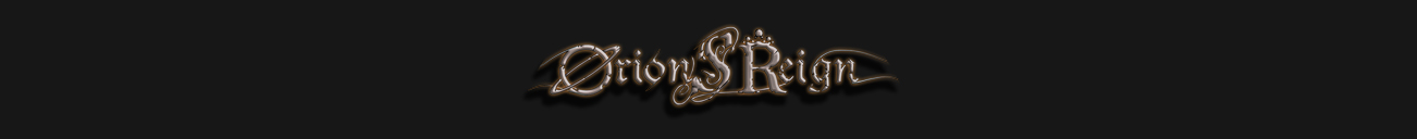 Orion's Reign – Official Website