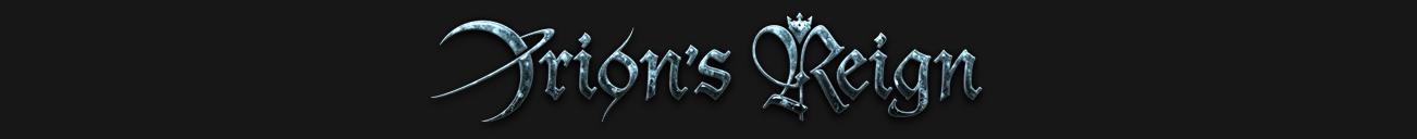 Orion's Reign – Official Website